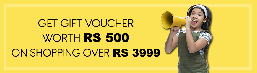 Free Gift Voucher Worth Rs 500