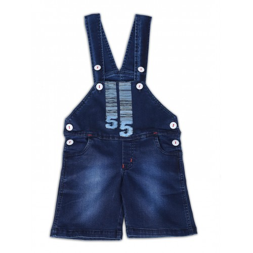 Dungaree-ND3538 -Navy