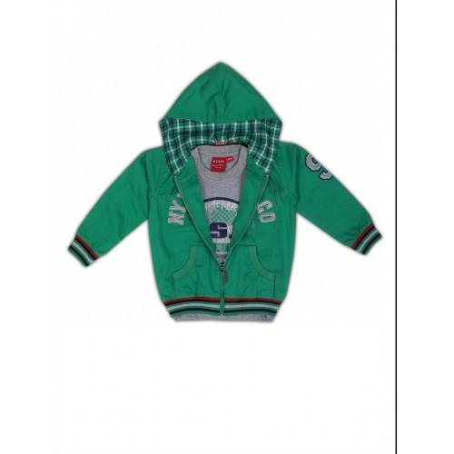 Jackets-NJK1768-GREEN