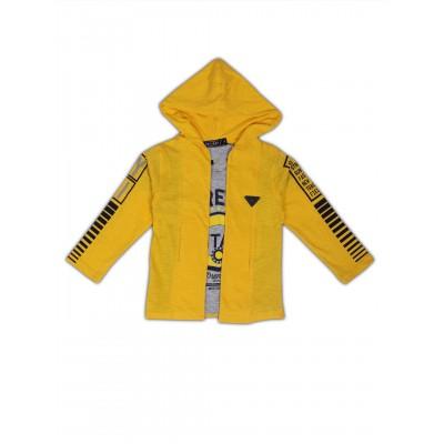 Jacket-NJK2940-YELLOW
