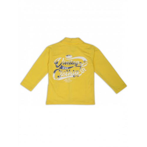 Jacket-NJK3094-YELLOW