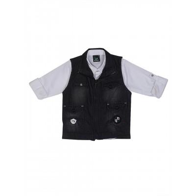 Waistcoat-NJK1736-Black