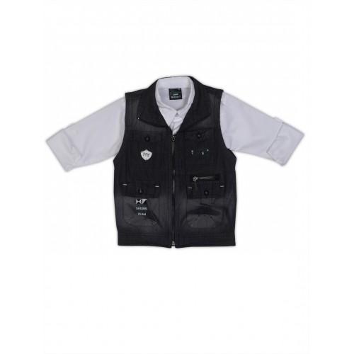 Waistcoat-NJK1738-Black