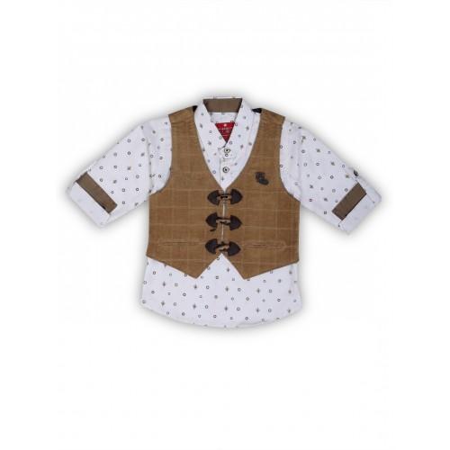 Waistcoat-NJK3004-Khaki